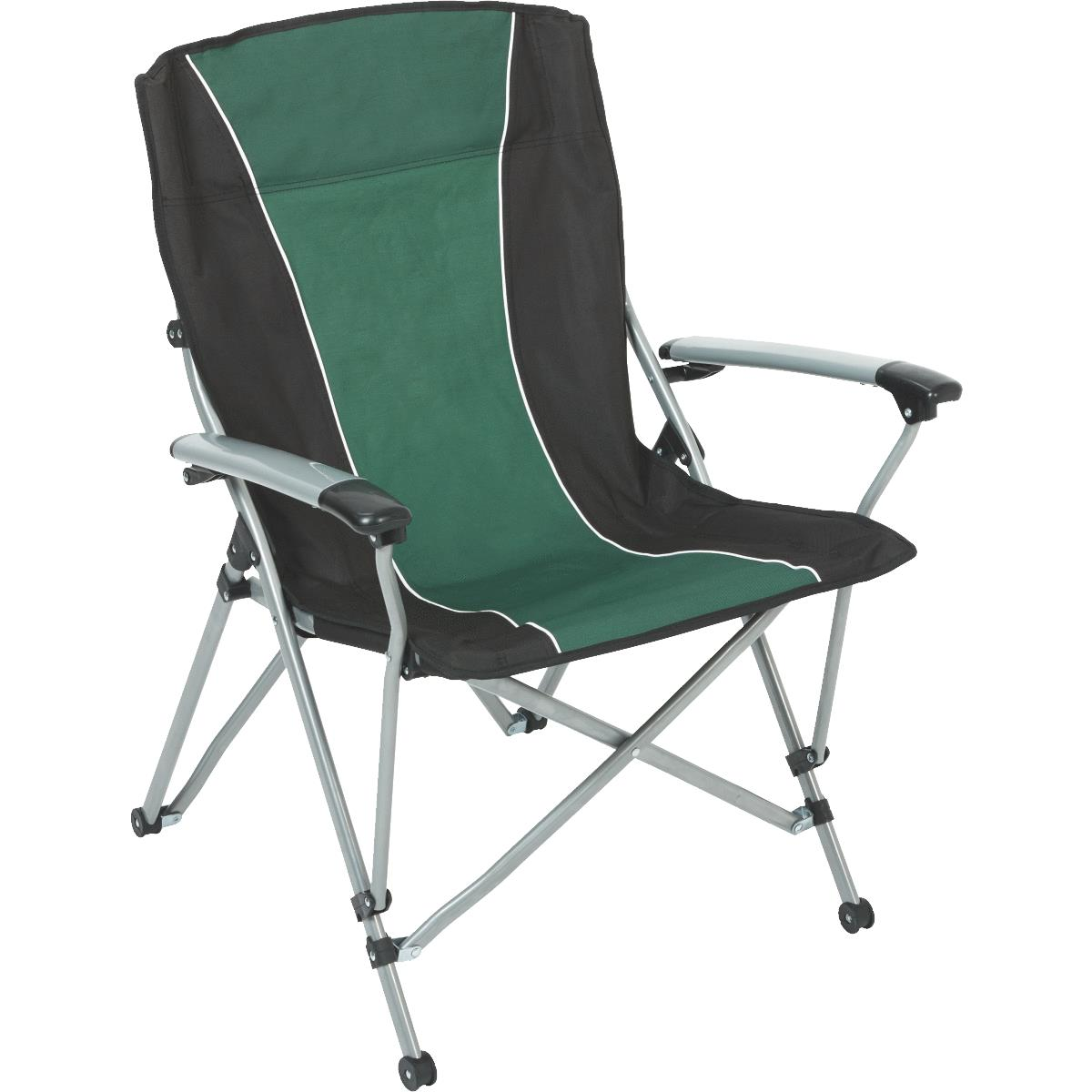 Outdoor Expressions Flat Arm Folding Lawn Chair