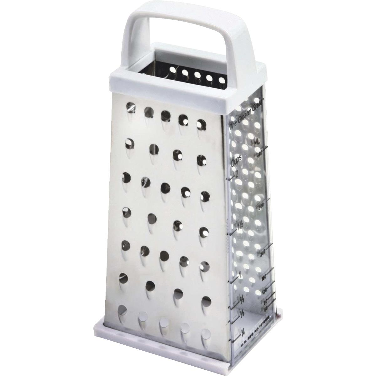 Norpro 4-Sided Stainless Steel Grater