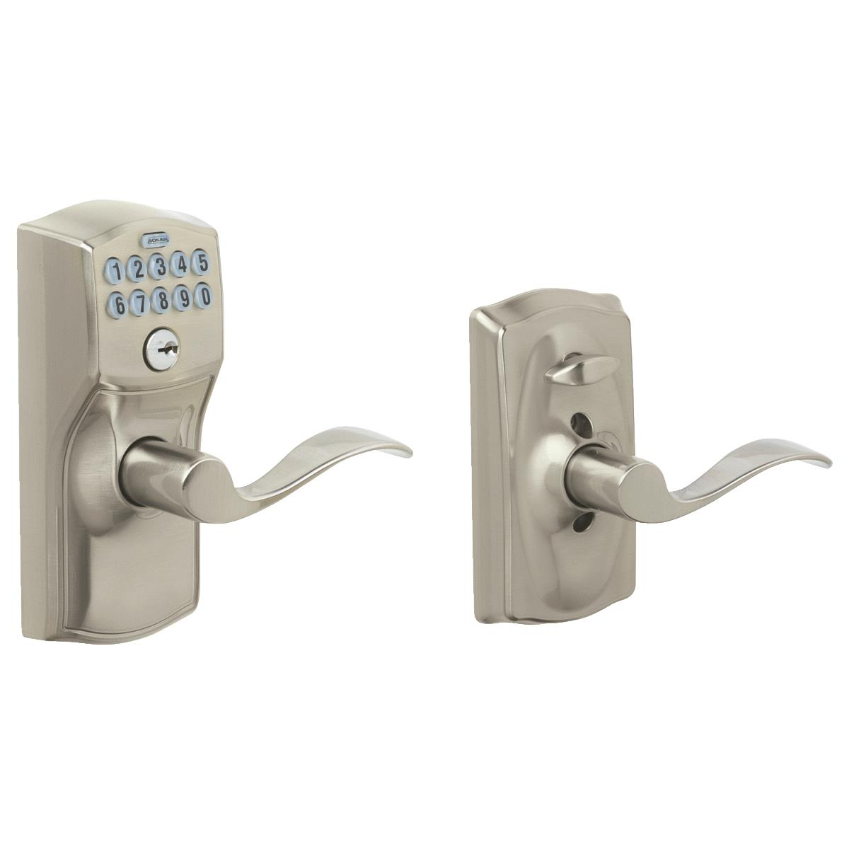 Schlage Camelot Lever Electronic Keypad Entry Lock
