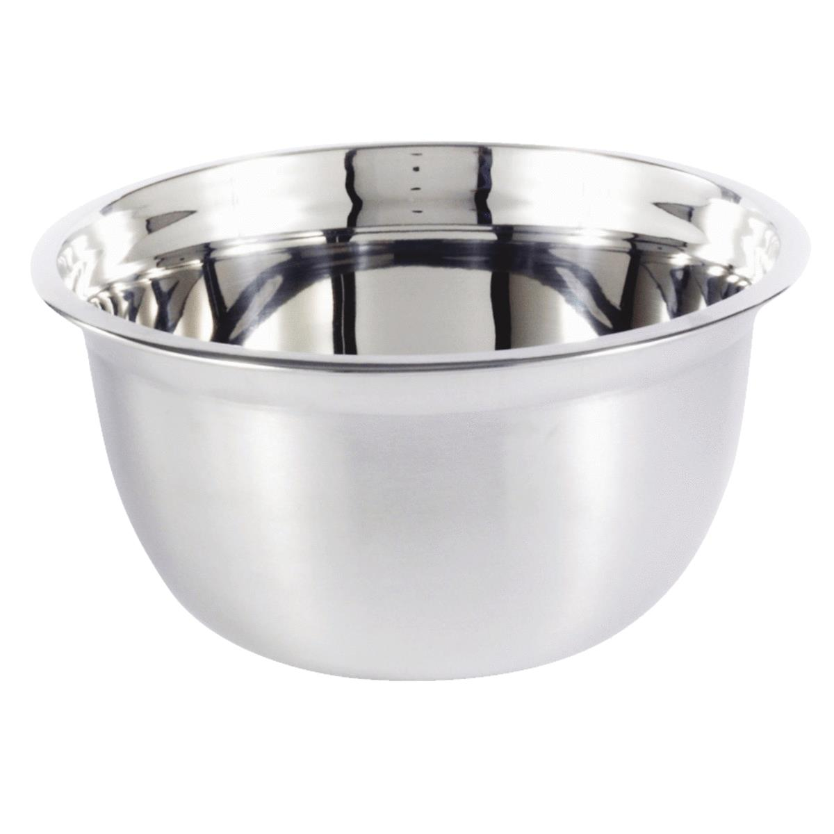 M E Heuck Stainless Steel Mixing Bowl