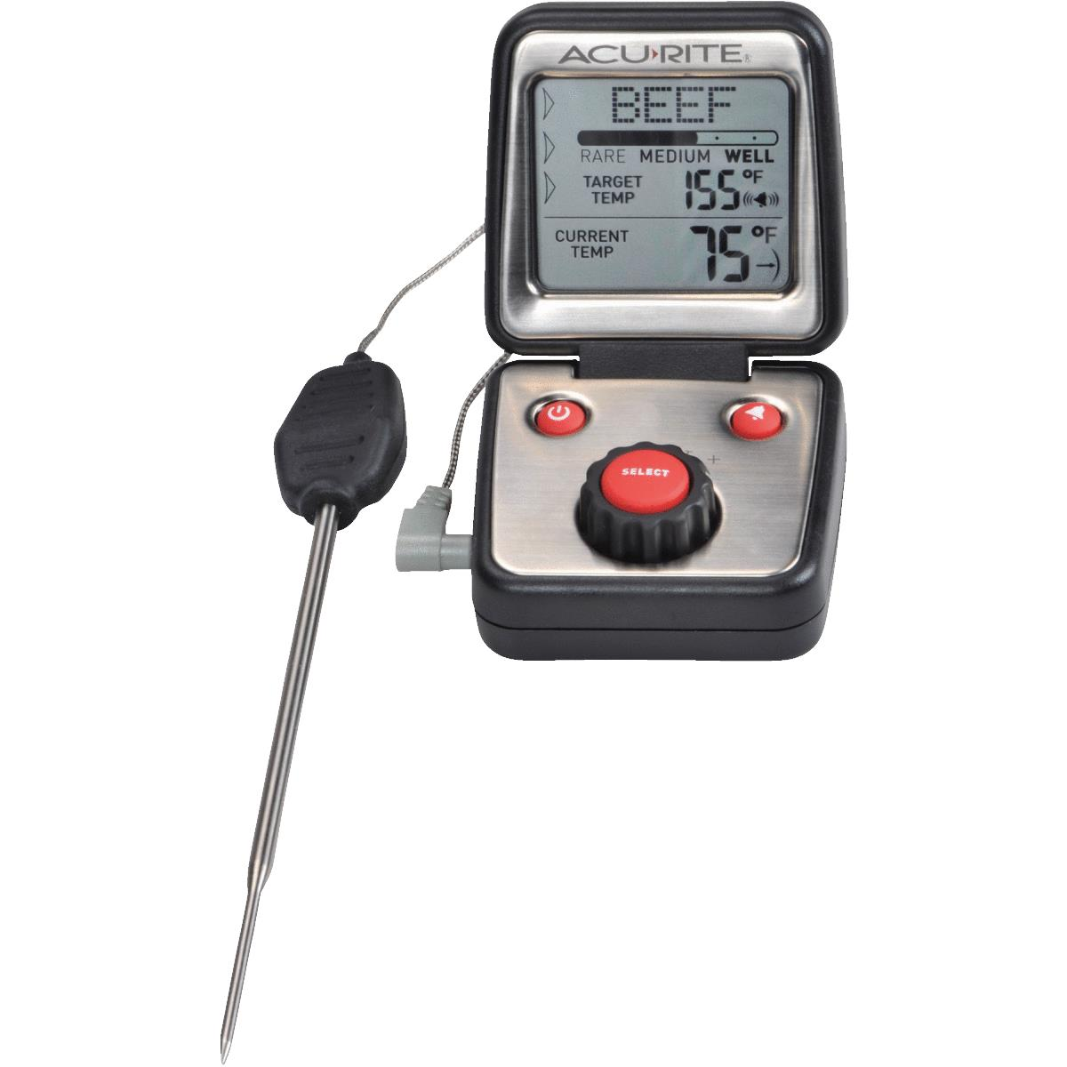 Acu-Rite Audible Digital Cooking Kitchen Thermometer