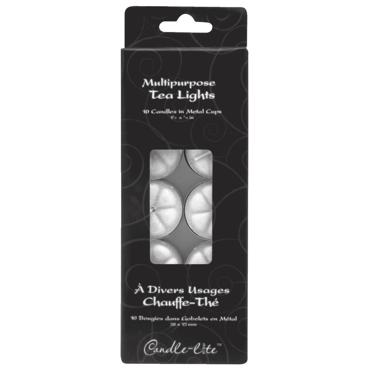 10-Pack Tea Light Candle
