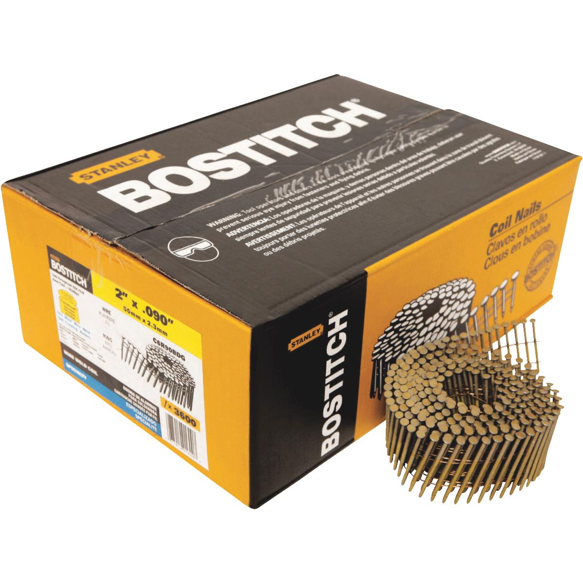 Bostitch 15 Degree Wire Weld Coil Siding Nail