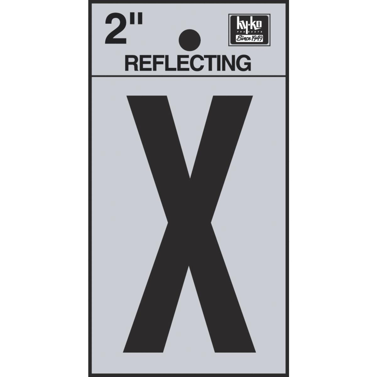 2″ Reflective Letters
