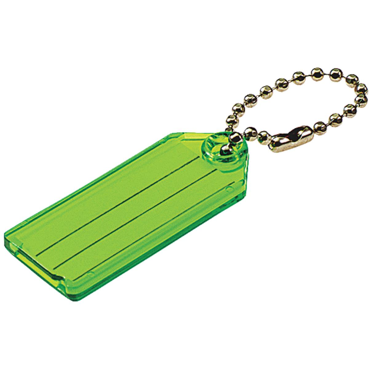 I.D. Key Tag With Chain