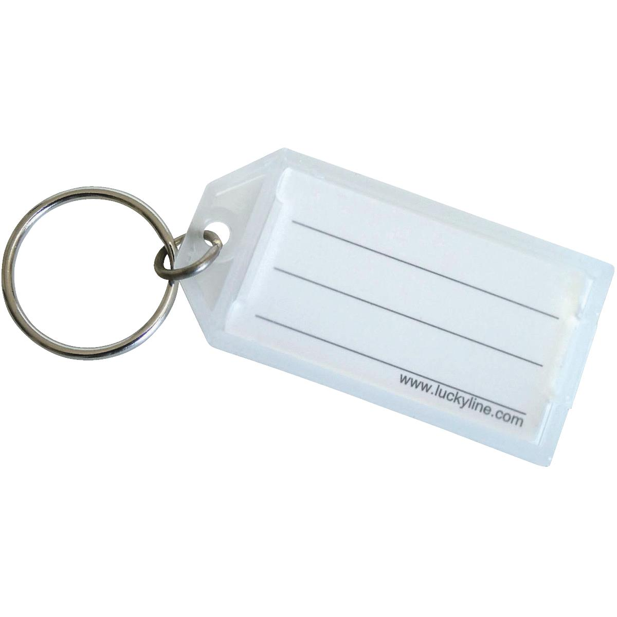 I.D. Key Tag With Ring
