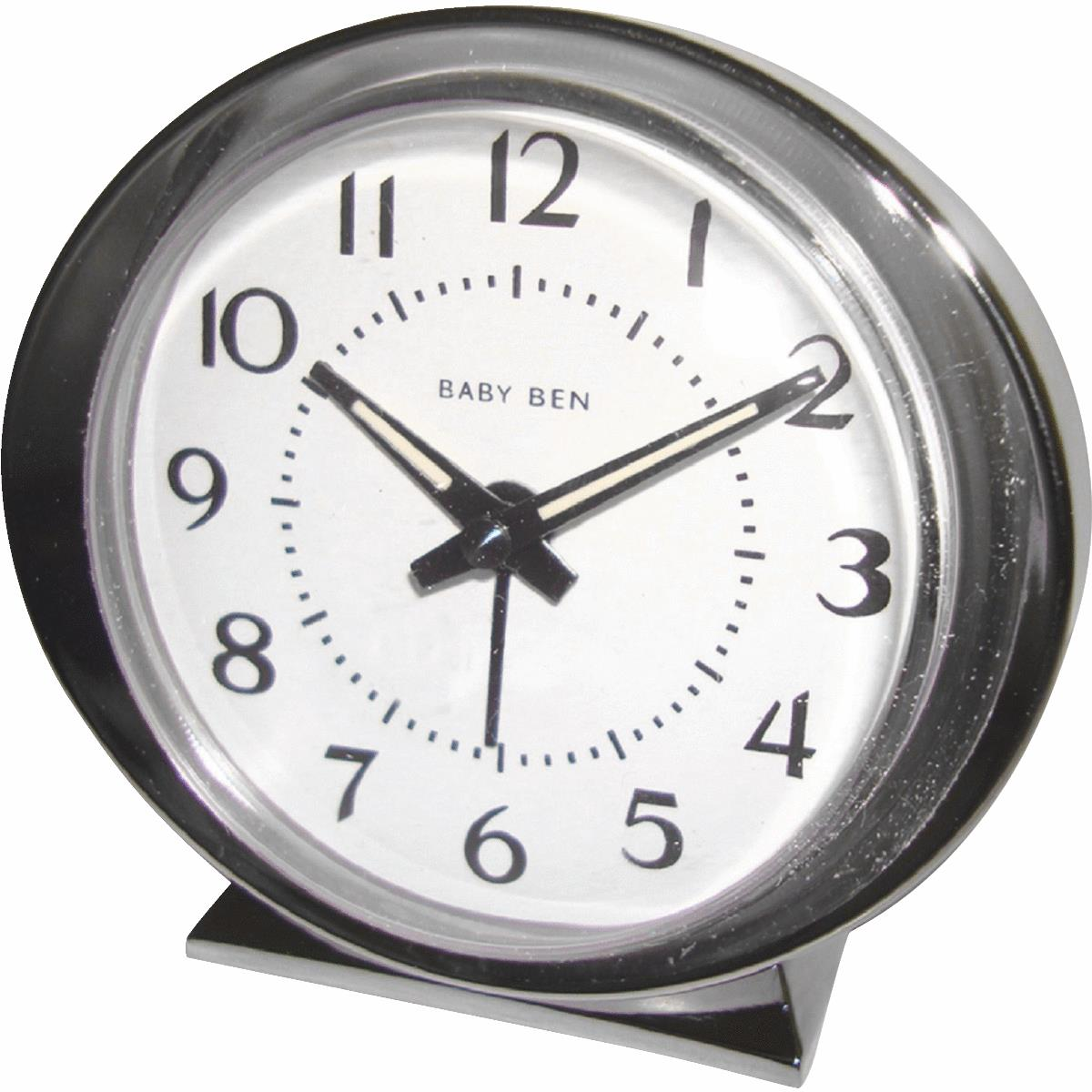 Baby Ben Classic Style Battery Operated Alarm Clock