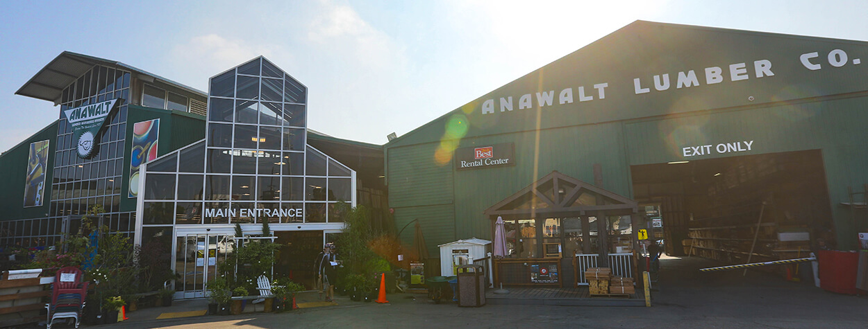Anawalt Lumber | Improving your home and garden since 1923