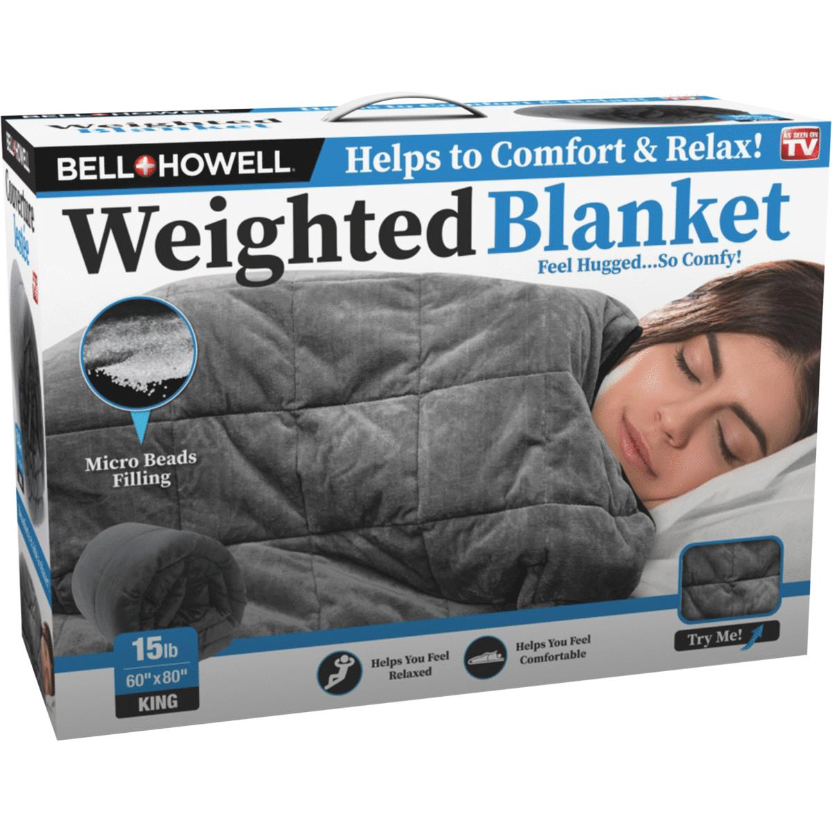 Bell+Howell Weighted Blanket