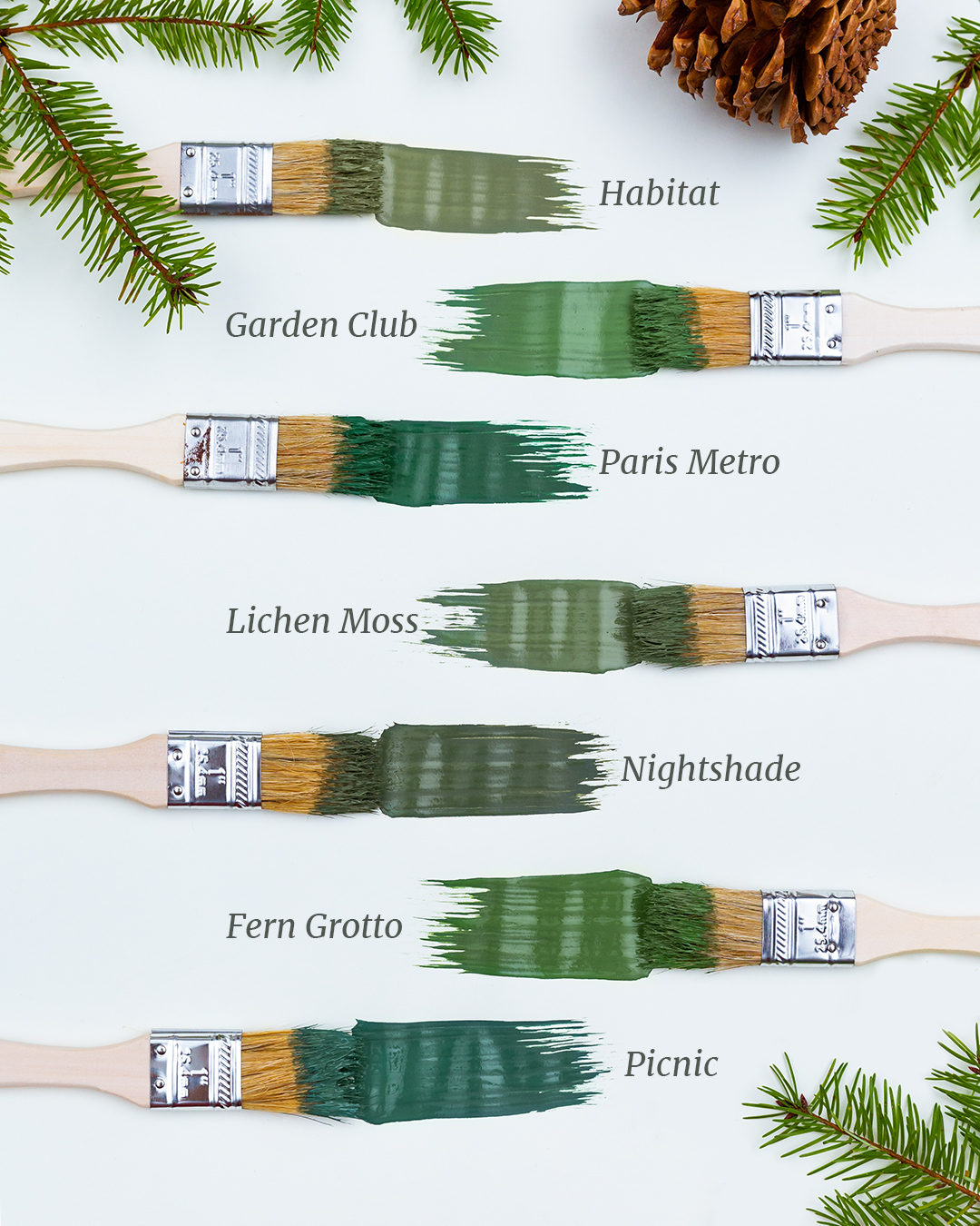 Pine Inspried Paint