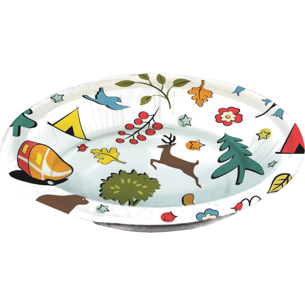Camp Casual Eco-Friendly Paper Bowl