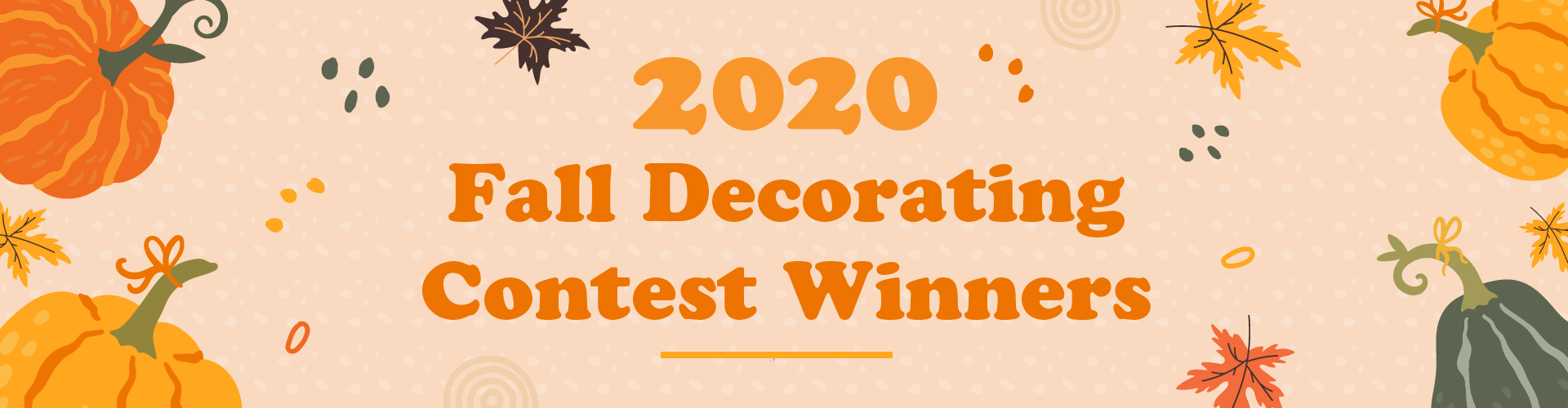 2020 Fall Decorating Contest Winners